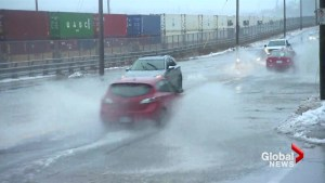Haligonians attempt to stay dry in face of wet winter weather